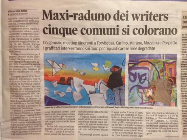 articolo maxi raduno di writers