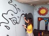 Graffiti al sottopasso 2016