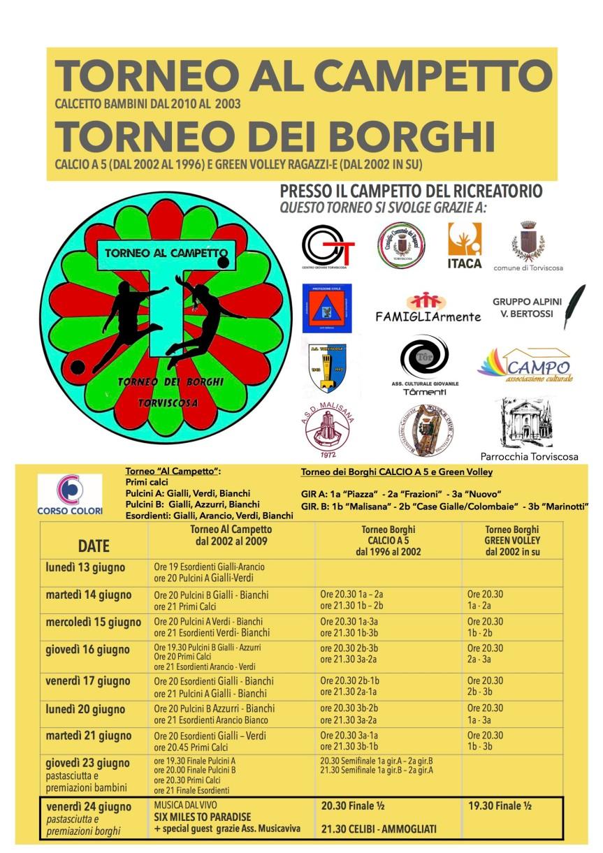 locandina torneo campetto 2016