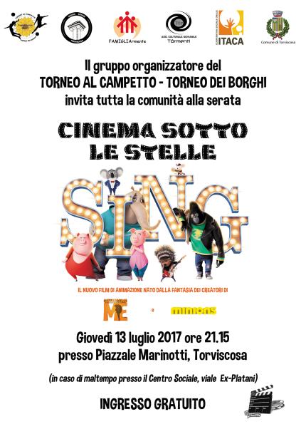 13 luglio Cinema sotto le stelle