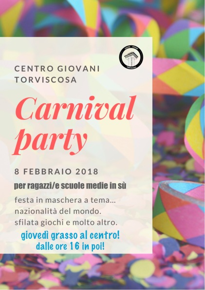 carnival party web